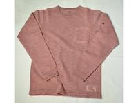 スマートスパイス メンズ スラブクルーネックポケットTシャツ WELL WORN RED