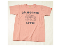 スマートスパイス メンズ プリントTシャツ CALIFORNIA STYLE WELL WORN RED