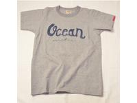スマートスパイス メンズ プリントTシャツ OCEAN ヘザーグレー