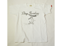 スマートスパイス DOG BORDING PRINT T-SHIRTS WHITE