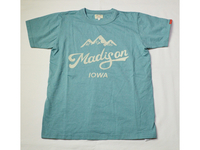 スマートスパイス MADISON PRINT T-SHIRTS ANTIQUE GREEN
