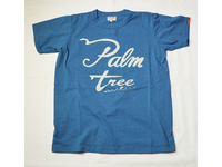 スマートスパイス PALM TEEE PRINT T-SHIRTS OAFU BLUE