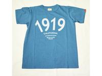 スマートスパイス 1919 PRINT T-SHIRTS OAFUBLUE