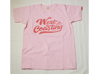 スマートスパイス WEST COASTING PRINT T-SHIRTS PALE DOGWOOD