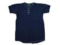 スマートスパイス SMC0171 本藍染ヘンリーネックTシャツ