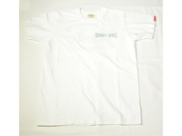 スマートスパイス HIPSTER バックプリントTシャツ WHITE